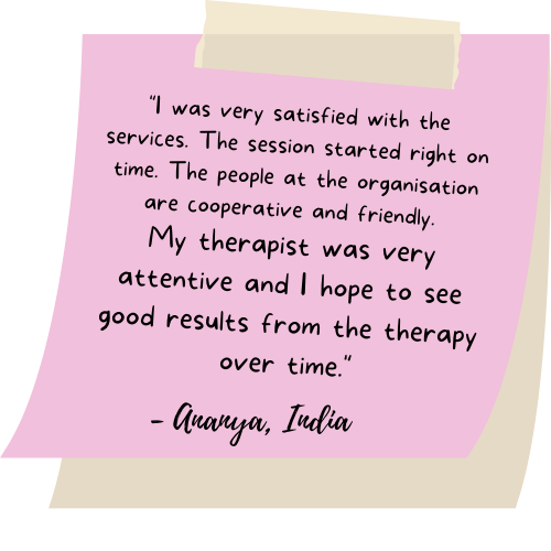 Goodlives Therapy Testimonial