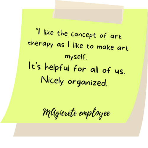 I like the concept of art therapy as I like to make art myself. It's helpful for all of us. Nicely organized.